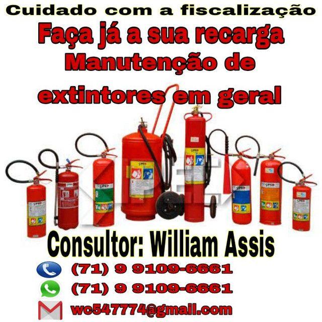 Manutenção de extintores em geral - Foto 2
