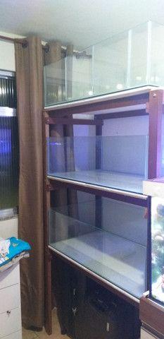 Bateria de aquários  - Foto 5