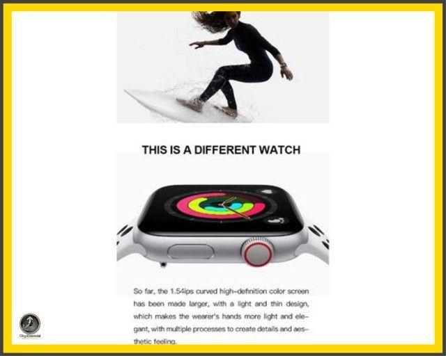 Relogio Inteligente Smartwatch Iwo Max T500 44mm  - Foto 3