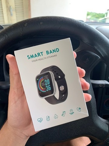 Smartwatch D20 Pro - relógio inteligente  - Foto 3