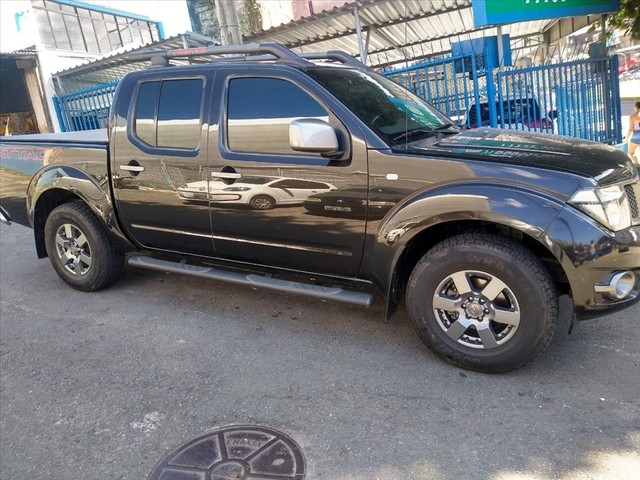 NISSAN FRONTIER 2.5 SV ATTACK 4X4 CD TURBO ELETRONIC DIESEL 4P AUTOMÁTICO - Foto 6