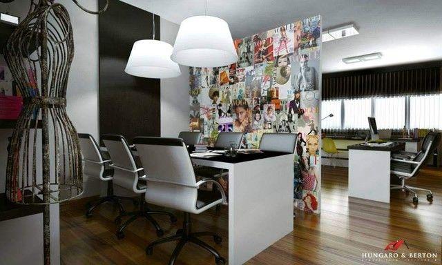 Escritório Empresarial Moderno c/ 4 ambientes