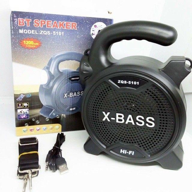 Som Bluetooth X-BASS ZQS-5101 - Foto 5