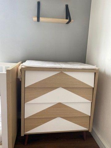 Vendo lindo quarto de bebê moderno ! - Foto 4