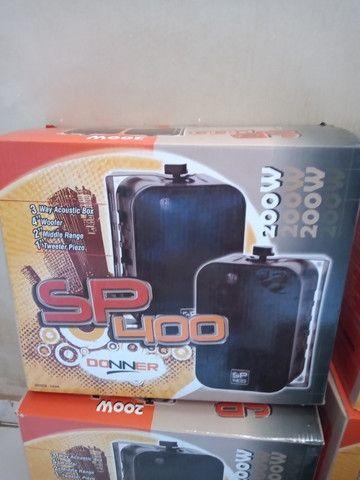 Amplificador e caixas acústicas - Foto 5