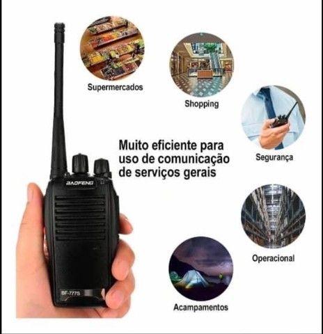 Rádio comunicador 777s - Foto 3