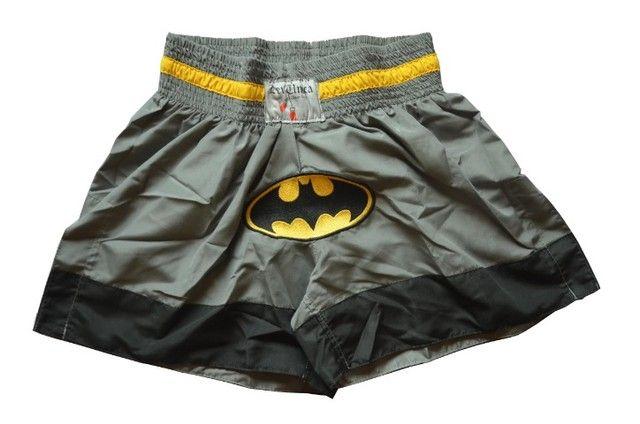 Short muay thai para lutadores ed. Batman