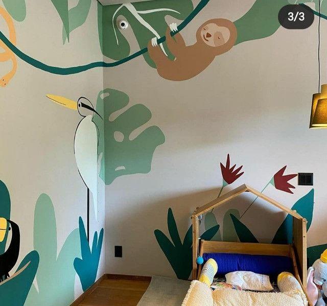 Papel de parede infantil (leia o anuncio) - Foto 4