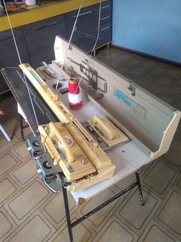 Máquina de tricô Elgin Brother 840 - Foto 4