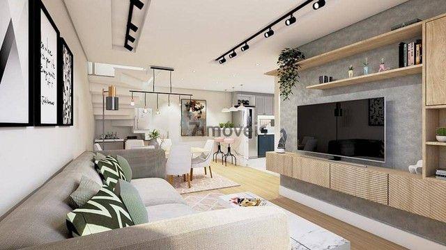 Sobrado com terraço em Condomínio, 3 quartos, 2 vagas - Foto 4