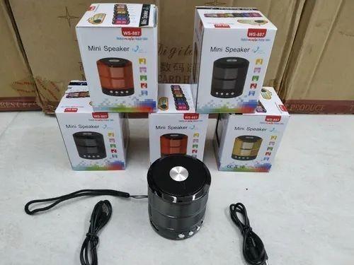 Mini Caixa De Som Portátil Speaker Ws-887  - Foto 2