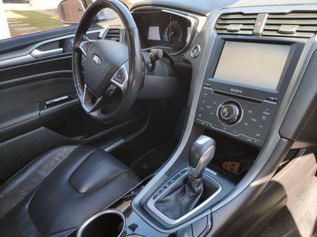 Ford fusion Titanium awd 2013 com teto - Foto 4