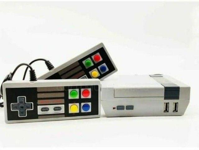 Video Game Eony Mini 3000 Jogos Retro 8 bits 2 Controles - Foto 3