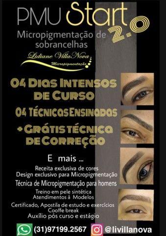 Curso de Micropigmentação com Dermografo e tebori
