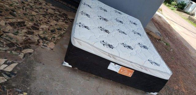 Cama box casal de mola em bom estado de conservação  - Foto 4