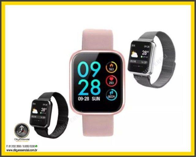 Relógio Inteligente SmartWatch P70 Android e Ios - Foto 3