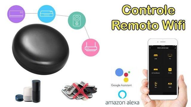Controle Remoto Universal Inteligente Wifi Smart Home Alexa
