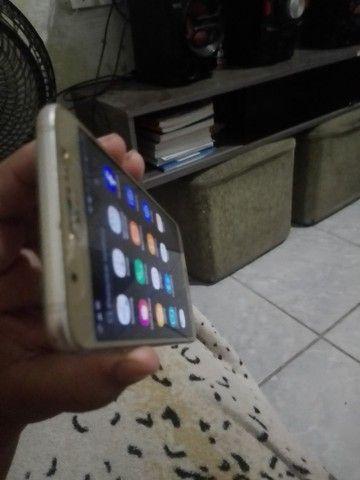 Samsung J7 metal pouco trincado em cima mas todo ok! - Foto 6