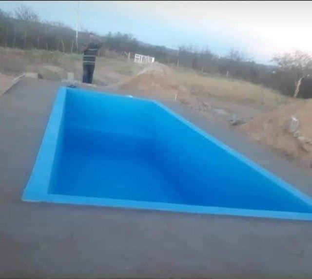 pintura de piscina