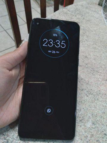 Motorola one vision. TROCA.