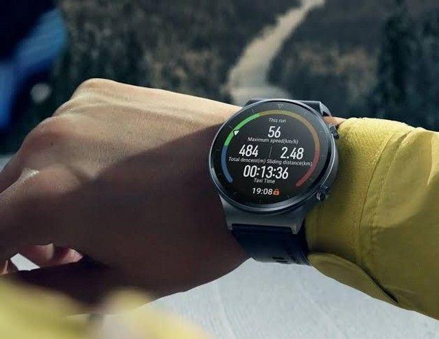 Huawei watch Gt2 Pro , oxímetro Spo2,gps, vidro de safira + Titânio, smartwatch  - Foto 3