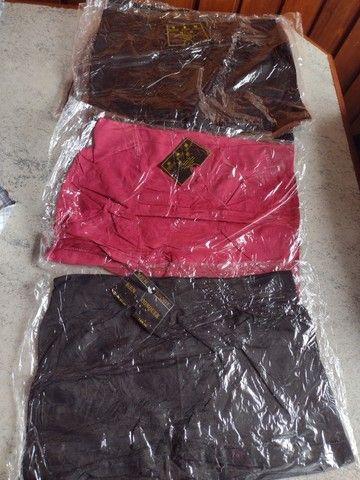 149 - Cueca Boxer Microfibra Lisa Preto Poliéster - Tam GG R$ 10 reais cada. - Foto 2