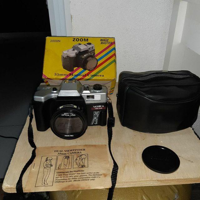 Câmera antiga para colecionar s/ uso
