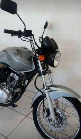 Honda CG 150 (Prata) No Preço...  - Foto 4