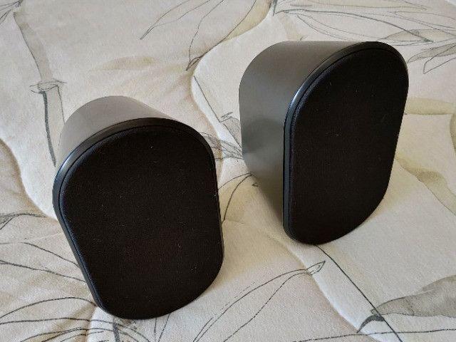 Caixas Acústicas Frontais Para Home Theather Samsung Ps-fx40