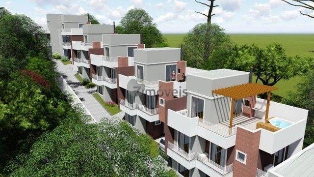 Sobrado com terraço em Condomínio, 3 quartos, 2 vagas - Foto 14