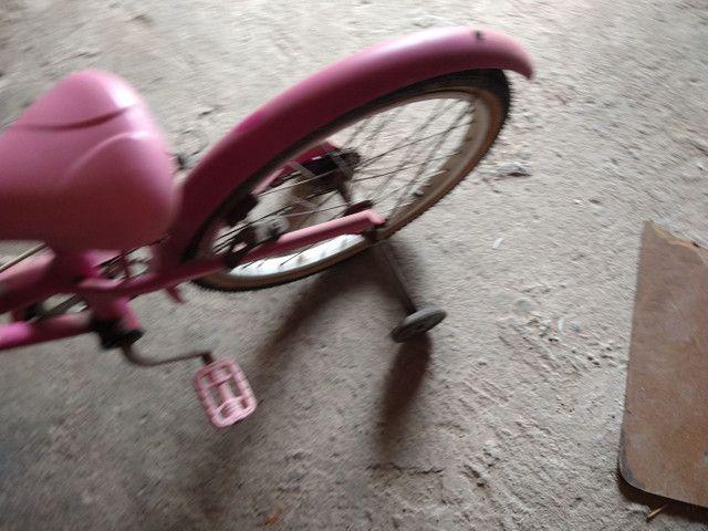 Bicicleta rosa  - Foto 4