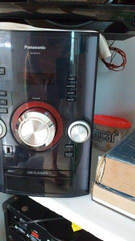 Mini system panasonic sc akx12lb k - Foto 3