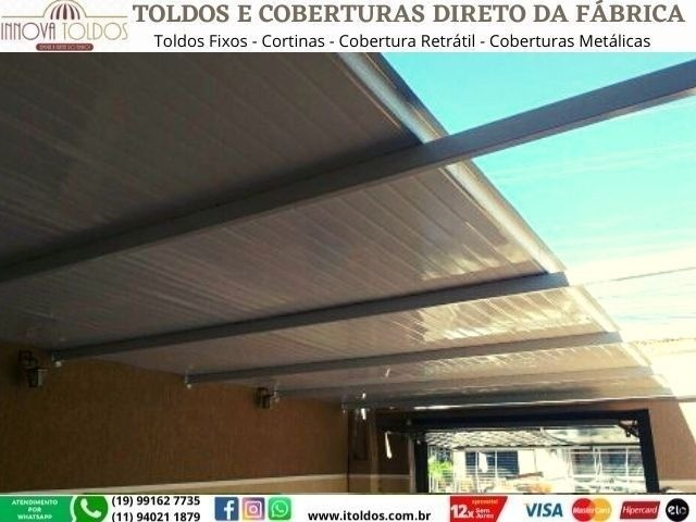 Coberturas Metálicas, Sob Medida, Em até 12x Cartão, Com instalação - Foto 4