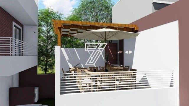 Sobrado com 151m² com 3 quartos e churrasqueira no terraço em Campo Comprido - Curitiba -  - Foto 8