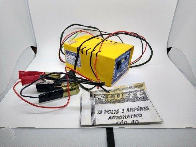 Carregador de Bateria Luffe 12v 3Ah - Foto 2