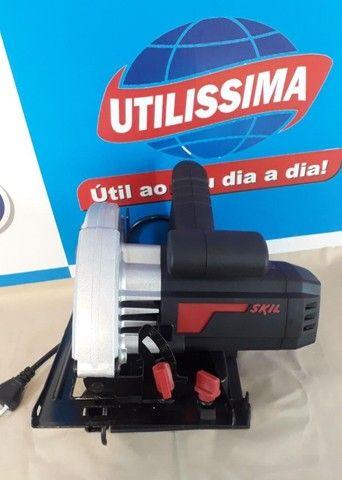Serra Circular Manual Elétrica Skil 5200 ? Entrega grátis - Foto 2