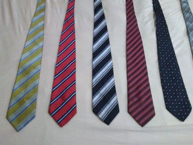 Gravatas de marca / 8 gravatas diversificadas