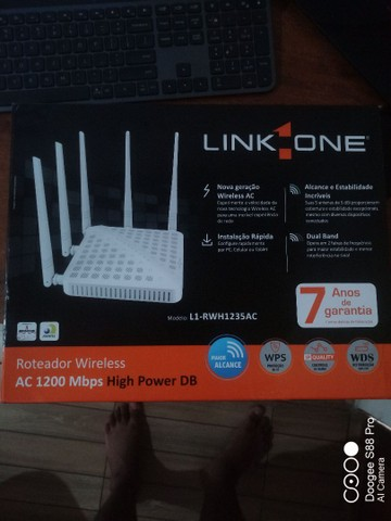 Roteador Wireless AC 1200 Mbps High Power DB - Foto 2