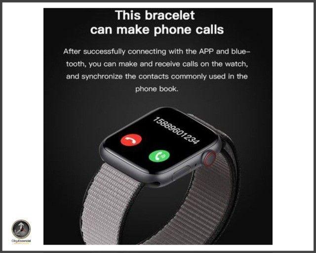 Relogio Inteligente Smartwatch Iwo 14 X7 Versão Atualizada - Foto 6