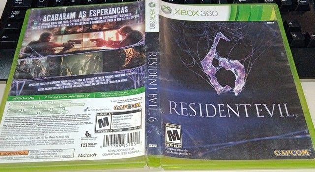 Resident Evil 6 Original Xbox 360