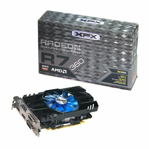 Placa de vídeo R7 360
