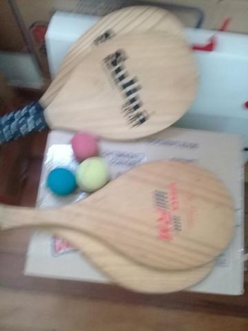 Raquetes de tênis de Praia é bolinhas