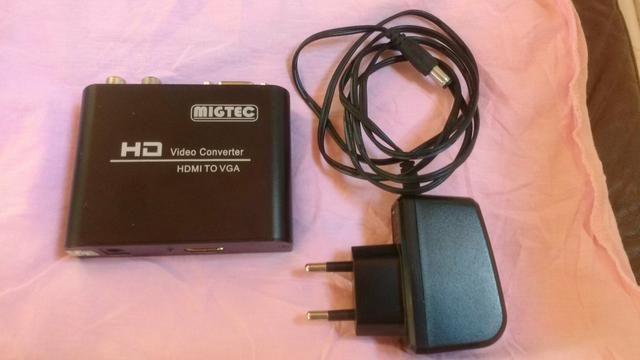 Vendo conversor HDMI para VGA