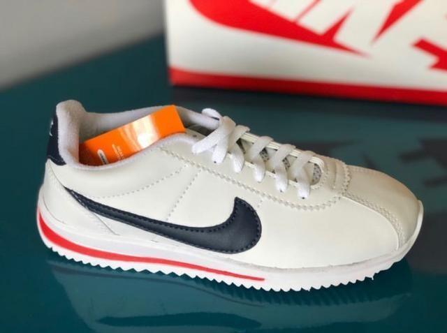 Tenis Nike Classic Cortez Leather Unissex Promoção - Roupas e ... ef1daf1f08477