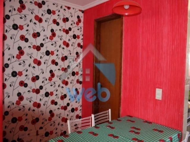Excelente sobrado, dois quartos e cozinha planejada! - Foto 8
