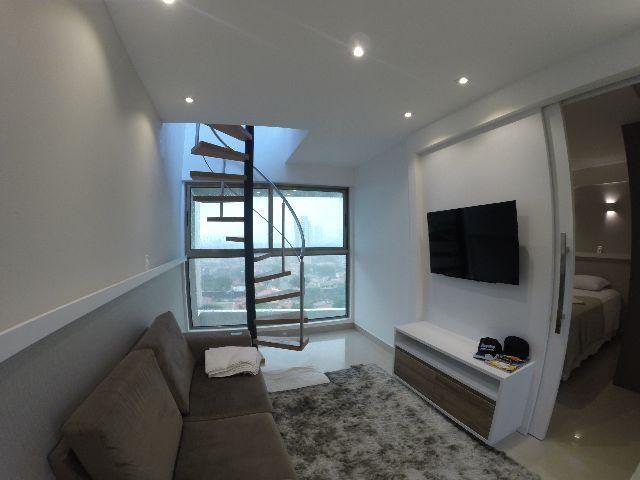 Cobertura - Ponta Negra - 80m² - Vista-mar - 100% mobiliada