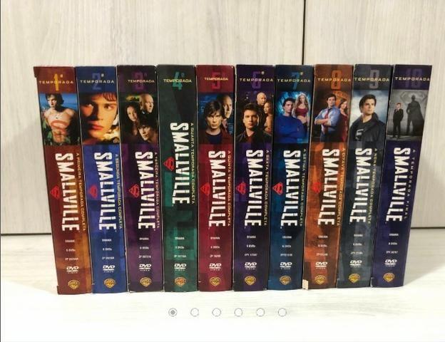 Coleção Completa 10 Temporadas Dvds Originais Smallville