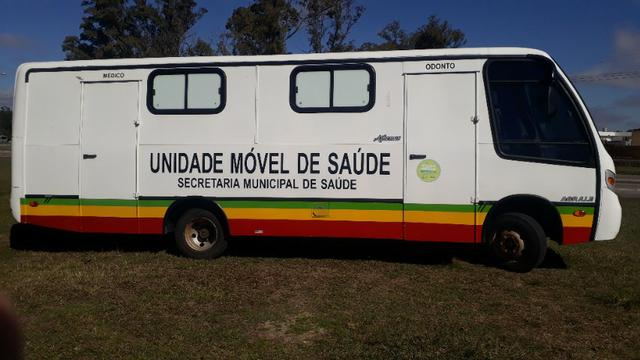 Micro onibus motor home unidade movel - Foto 13