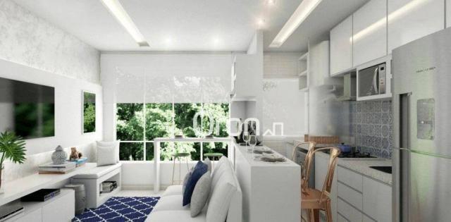 Apartamento com 2 dormitórios à venda, 56 m² por R$ 198.000,00 - Condomínio Santa Rita - G - Foto 5