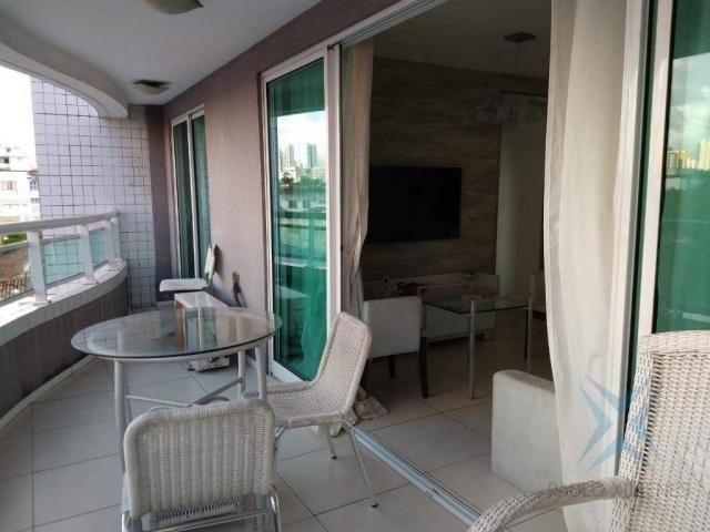 Apartamento com 1 dormitório à venda, 48 m² por r$ 300.000 - praia de iracema - fortaleza/ - Foto 12